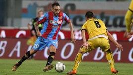 Serie C Catania-Juve Stabia 0-0, Curiale a secco