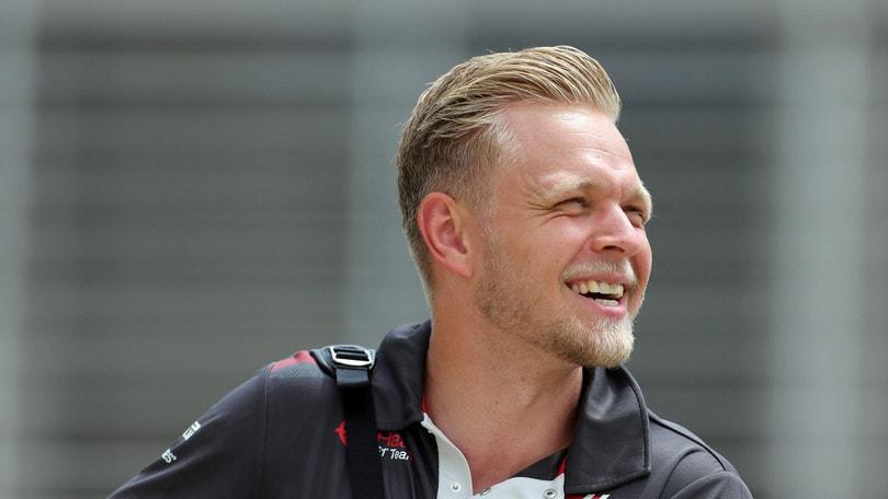 F1 Haas, Magnussen: «Sono molto orgoglioso del mio team»