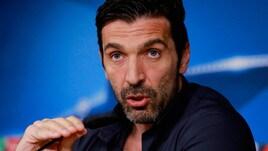 Juventus, Buffon ironico: «Ho detto alla squadra che se usciamo continuo»