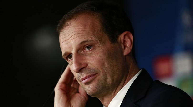 Juventus, Allegri: «Cancelliamo il 3-0 dell'andata»