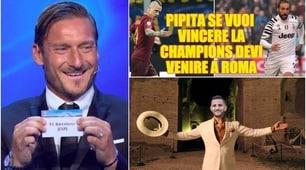 Champions League, Roma-Barcellona: la partita vista dai social