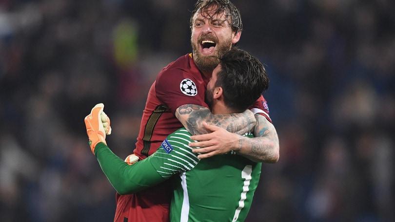 Champions, si gioca già sulla finale Roma-Liverpool