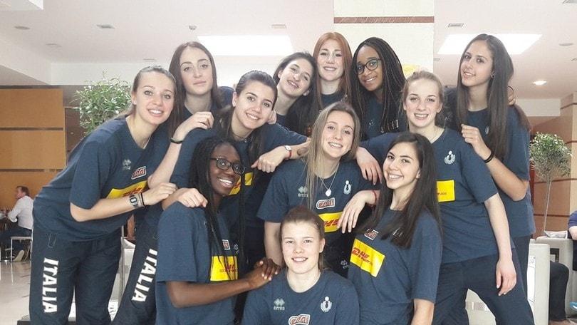 Volley: Europei Under 17, le azzurre hanno raggiunto la Bulgaria