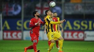 Coppa Italia di Serie C Viterbese-Alessandria 0-1: Marconi decide la finale d'andata