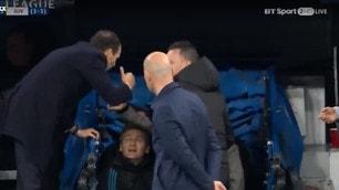 Allegri, battibecco con Sergio Ramos