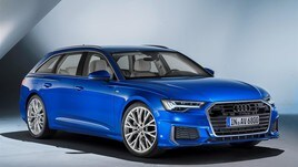 Audi A6 Avant 2018: foto