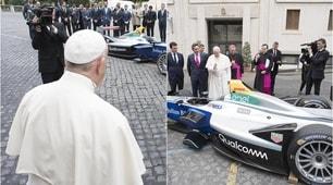 Formula E, arriva la benedizione di Papa Francesco