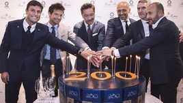 L'Inter al compleanno di Brooks Brothers