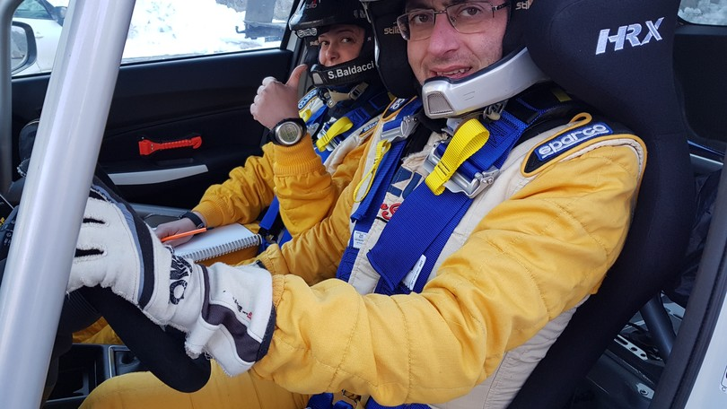 Stefano Martinelli, in pista per vincere anche con AISM