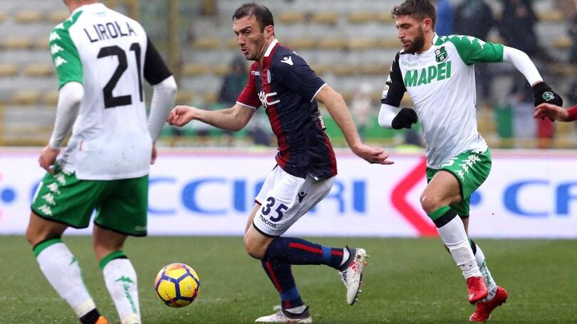 Serie A Bologna, si ferma Torosidis: tre settimane di stop