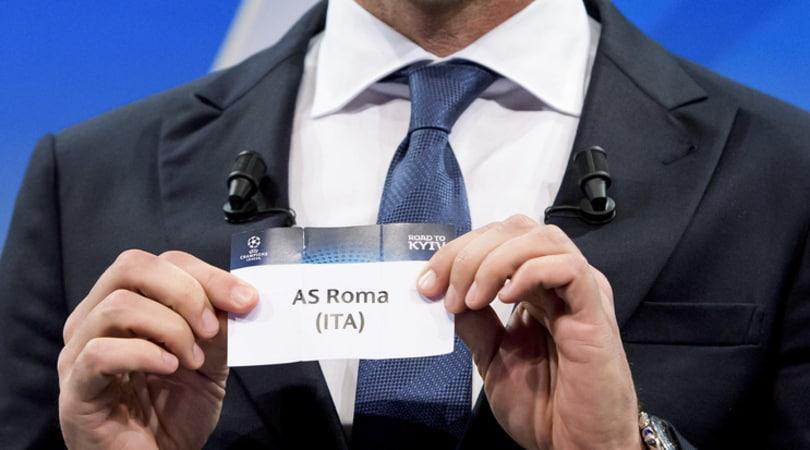 Diretta sorteggi Champions League: per la Roma una tra Liverpool, Bayern Monaco e Real Madrid
