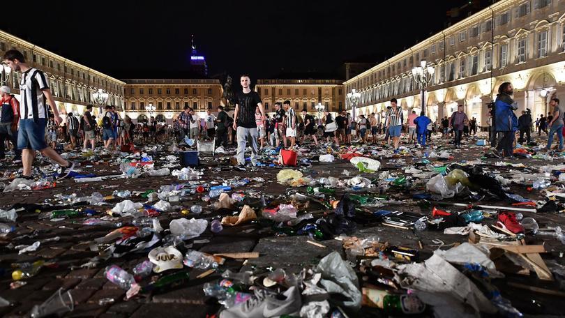Piazza San Carlo, presi autori panico