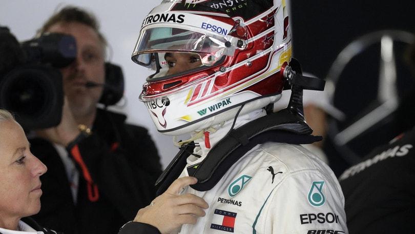 F1 Cina, Hamilton: «Dovremo essere perfetti per battere la Ferrari»