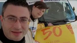 Rally di San Remo: AISM a bordo con Martinelli e Baldacci