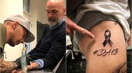 Fiorentina, anche Pioli si tatua per Astori