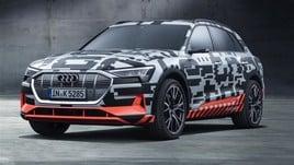 E-tron, parte la vendita della prima elettrica Audi