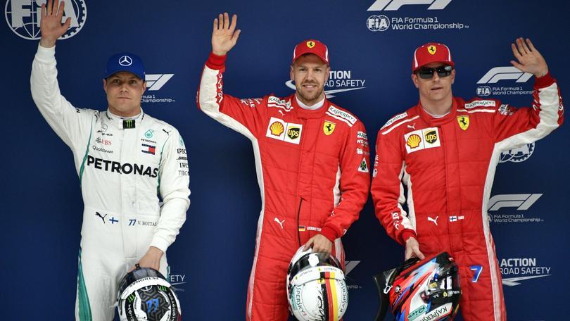 F1: Cina, Vettel