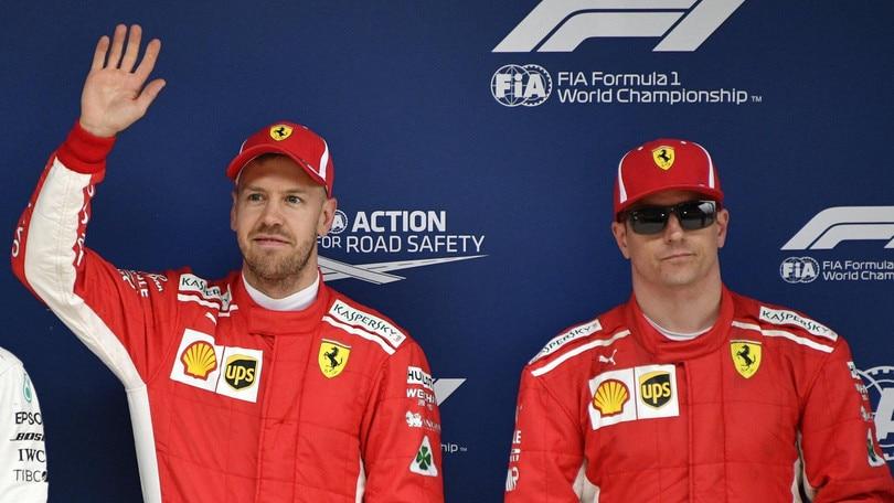 F1 Cina, Raikkonen: «Bene ma volevo di più»