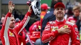 F1, Ferrari, che festa! Vettel conquista la pole position