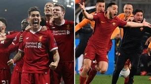 Champions, ecco il calendario di Roma e Liverpool tra le due semifinali