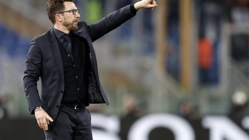 Di Francesco,voglio Roma vista con Barça