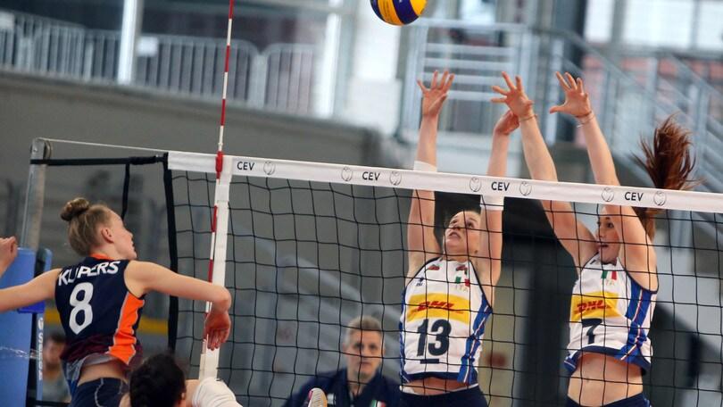 Volley: Europei Under 17, Italia travolgente contro l'Olanda