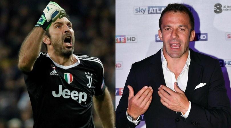 Real-Juve, Del Piero: «Ferito da chi dice che sono contro Buffon»