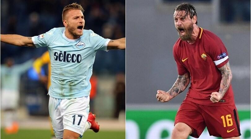 Lazio-Roma, tutto pronto per il derby. Le ultime sulle due squadre