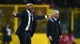 Atalanta-Inter 0-0: Gasperini ferma Spalletti