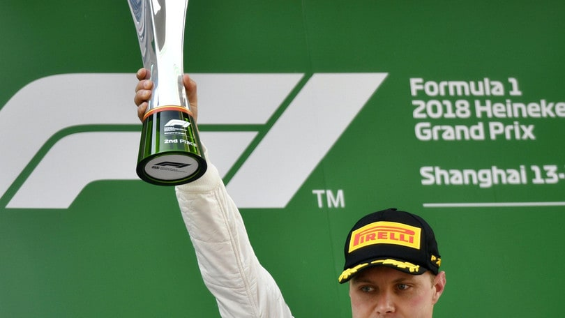 F1 Cina, Bottas deluso: «Abbiamo dato tutto, peccato»