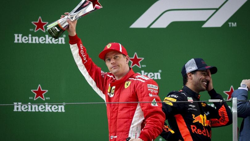 F1 Cina, Raikkonen: «Se non mi fossi fermato, ci saremmo scontrati con Vettel»