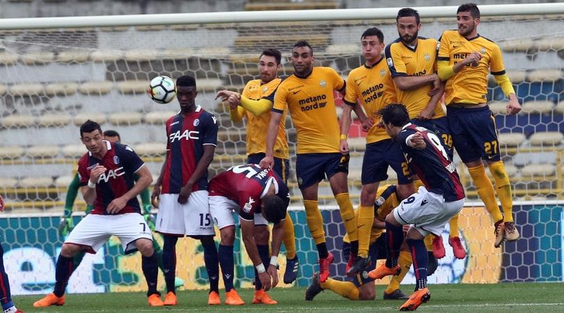 Serie A, gemma di Verdi: il Bologna torna al successo. 2-2 fra Sassuolo e Benevento