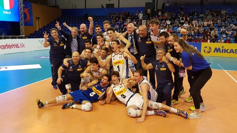 Volley: Europei Under 18, l'Italia è di bronzo