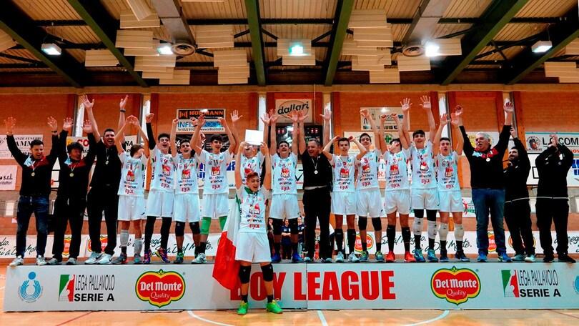 Volley: Boy League, Civitanova è sul gradino più alto del podio