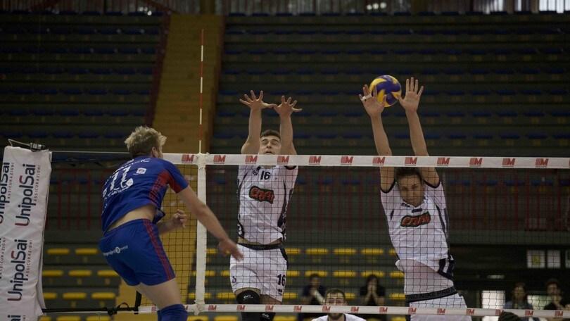 Volley: A2 Maschile, Play Out: Massa fa 1-1, Club Italia e Lagonegro sul 2-0