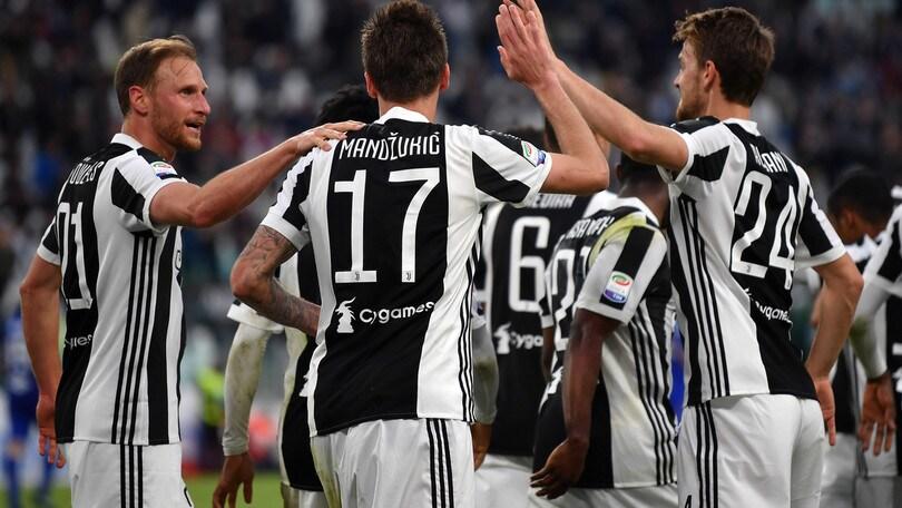 Serie A, crolla la quota scudetto per la Juve