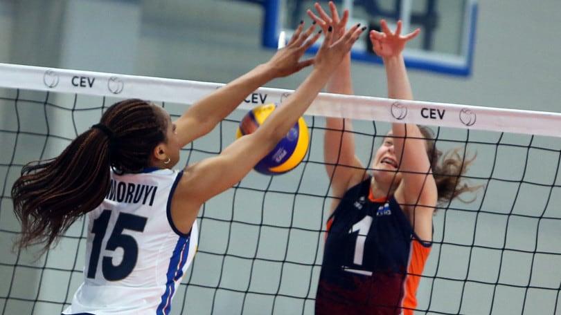 Volley: Europei Under 17: l'Italia prepara la sfida con l'Ucraina