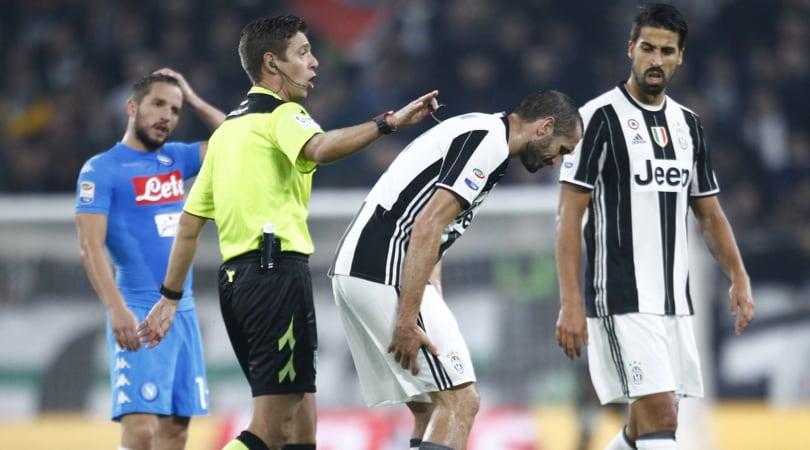 Juventus-Napoli: domenica l'arbitro sarà Rocchi