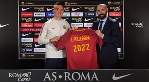 Roma, Luca Pellegrini rinnova il contratto fino al 2022