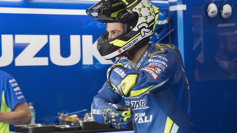 MotoGp Suzuki, Iannone: «Rossi è sempre un grande esempio»