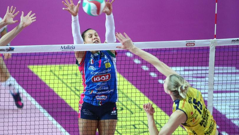 Volley: A1 Femminile, è tempo di finale: domani al PalaIgor Gara 1 Novara-Conegliano