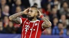 Bayern, stagione finita per Arturo Vidal