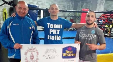 Muay Thai, Molinari a un passo dal titolo europeo