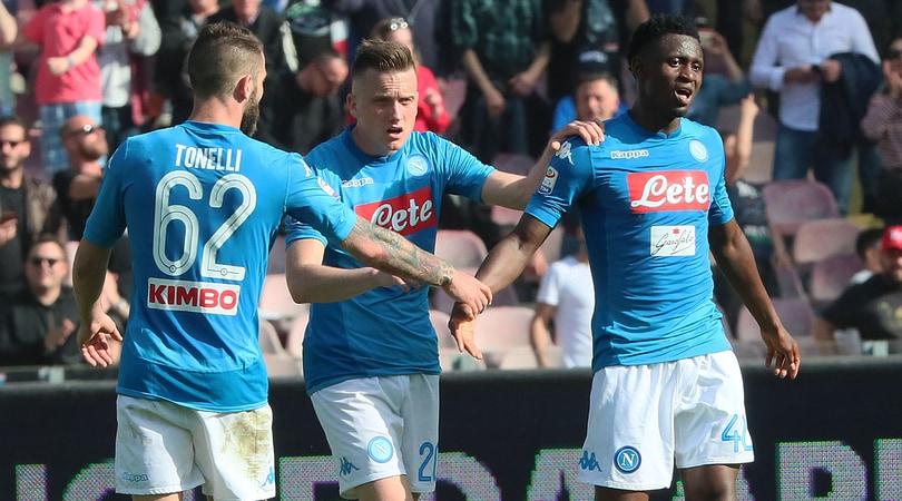 Napoli, la carica dei 45 mila verso la Juventus