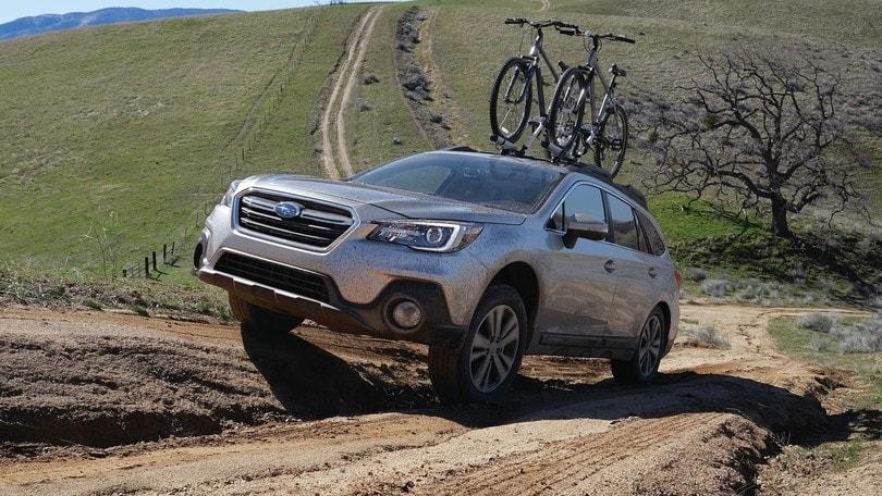 Subaru Outback: più sicurezza e nuovo design col restyling 2018