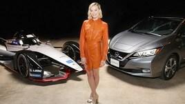 Nissan completa tour di lancio per la Formula E con Margot Robbie