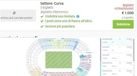 Roma-Liverpool, torna il secondary ticketing: 1000 euro per una curva