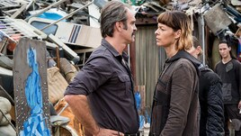 The Walking Dead, incontro con Pollyanna McIntosh e Steven Ogg
