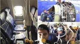 Scoppia il motore e muore una donna:tragedia in volo negli Usa