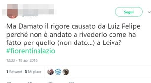 Fiorentina-Lazio: succede di tutto a Firenze, tifosi laziali furiosi con Damato